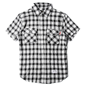 Ombre Plaid ShirtsNVY